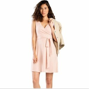 TOAD&CO Sleeveless Cue Wrap Dress | M